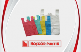 Transparent Plastic T-Shirt Bag